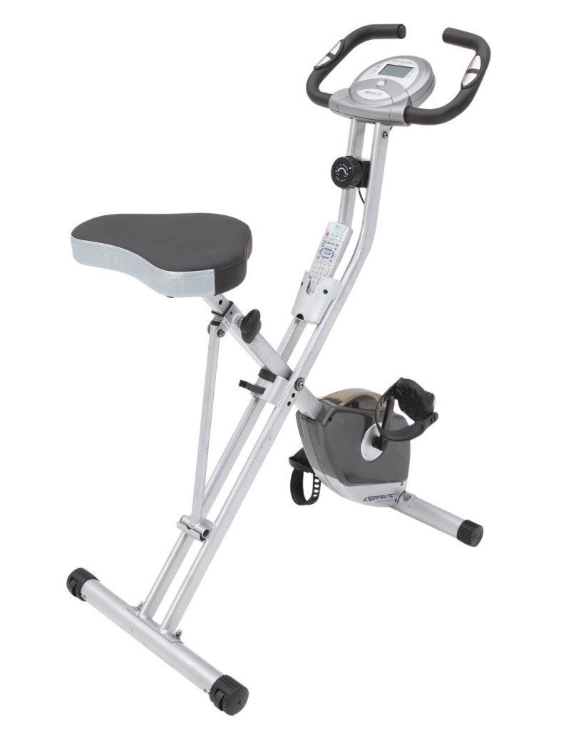 exerpeutic folding magnetic upright bike1