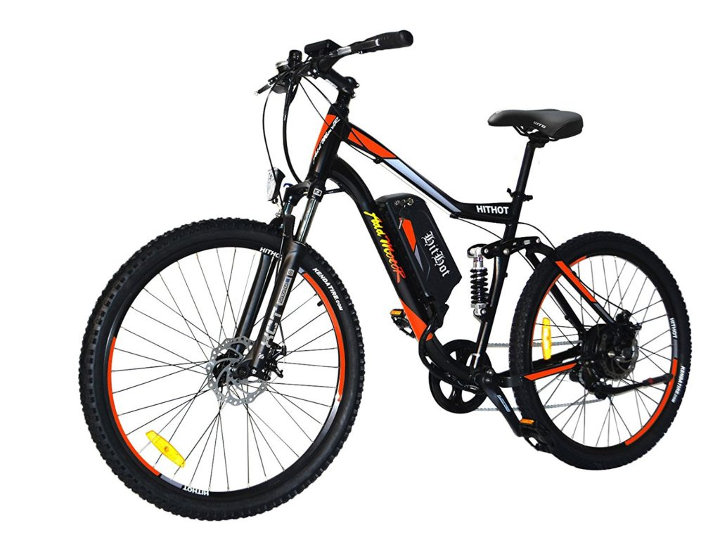 Addmotor hithot h1 electric mountain bike review of 2018 for Electric bike motor reviews